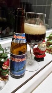 7. december. Endnu en smuttur til Belgien, hvor de har brygget en ganske fin skotsk inspireret wee heavy.